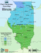 Illinois Plant Hardiness Zone Map Mapsof Net