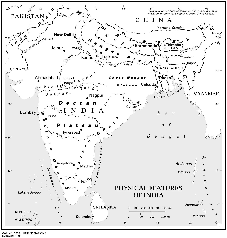 Florida Physical Map Worksheet