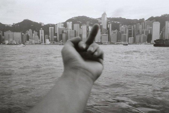 ai weiwei finger