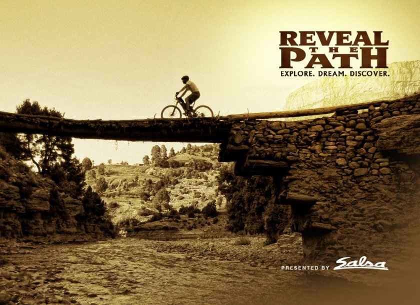 reveal the path cycle travel film