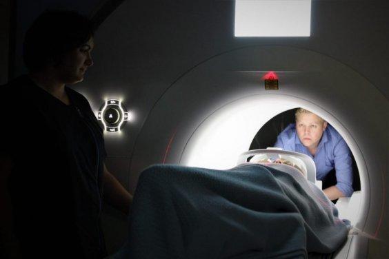 fMRI brain scan machine