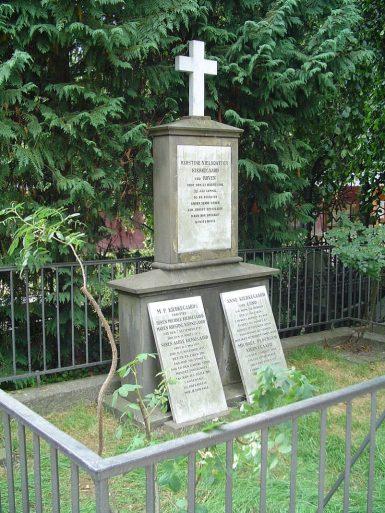 soren Kierkegaard grave
