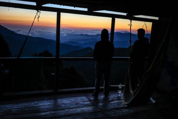 san jose del pacifico mexico sunset