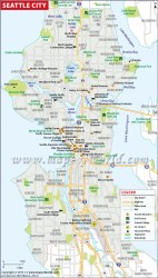 seattle map washington area usa maps tourist mapsofworld state states airports colleges print county showing guide golf aquarium places king