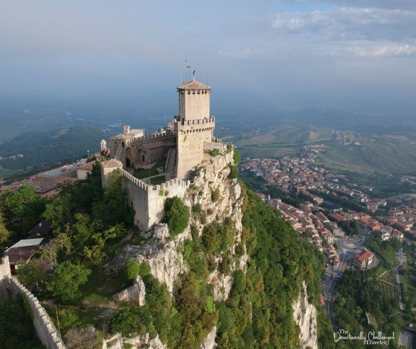 San-Marino-Castle-The-Directionally-Challenged-Traveler-best-road-trips-in-Europe