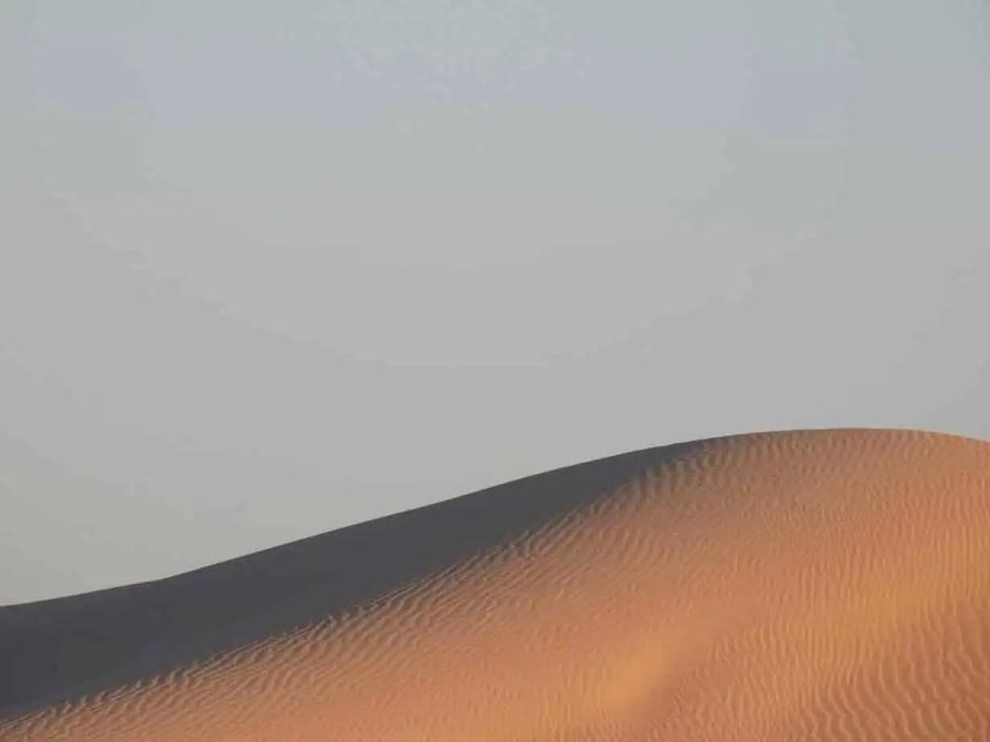 Best camping in UAE includes liwa