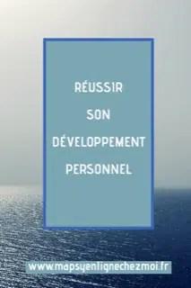 développement personnel; réussir