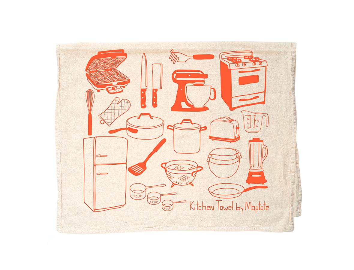 kitchen tea towels designing maptote towel