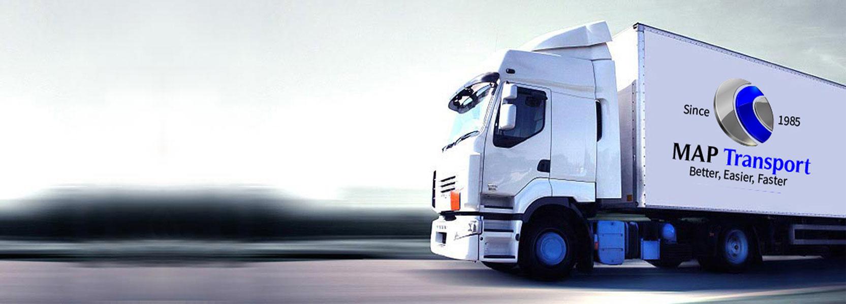 MAP Transport camión sostenible