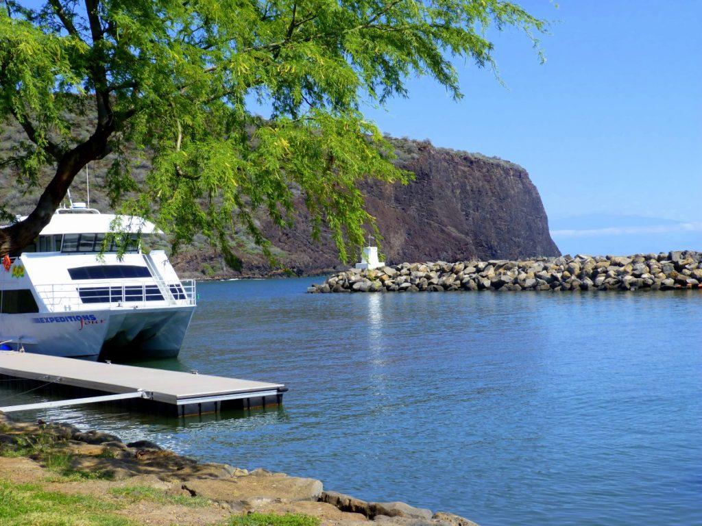 Maui to lanai by ferry, Hawaii