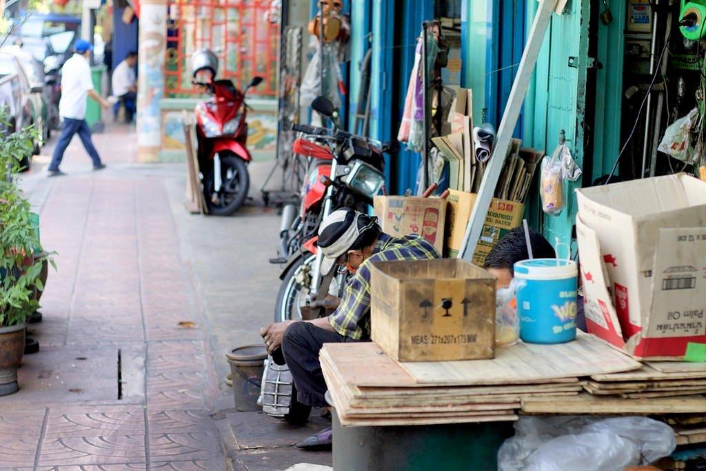 Engineering quarter in bangkok