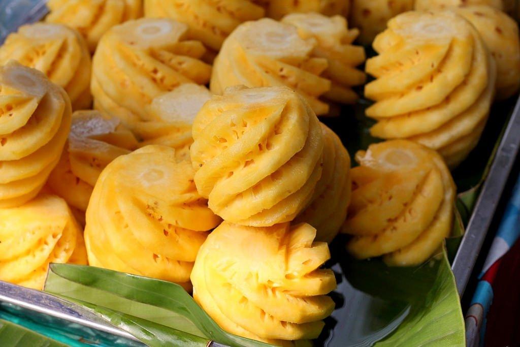 Special Chiang Rai pineapple