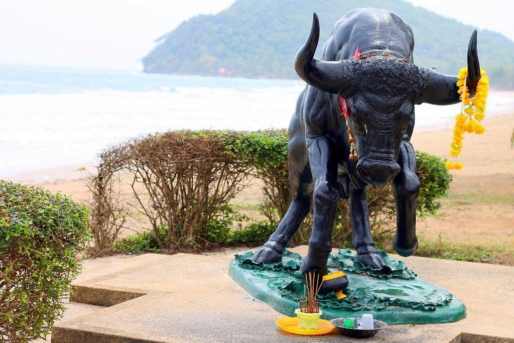 Running Bull Beach, Chumphon, Thailand