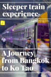 A Journey from Bangkok to Ko Tao