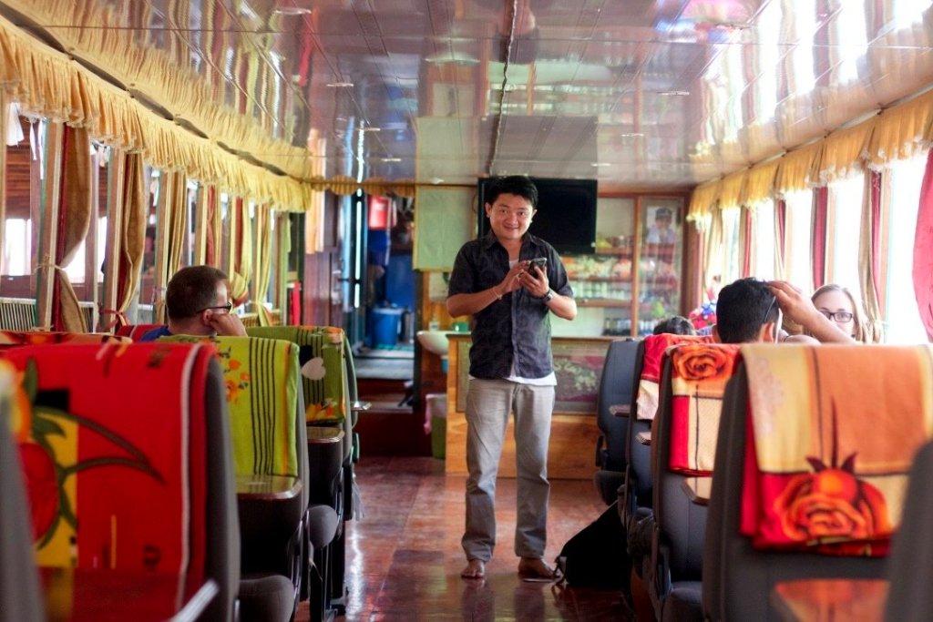 Mekong Smile Cruise guide Kat