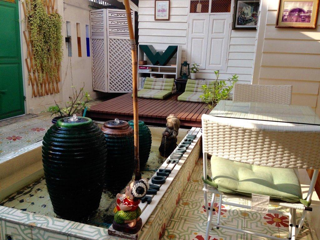 W Home Bangkok front garden, Thailand