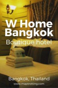 W Home Bangkok, Thailand