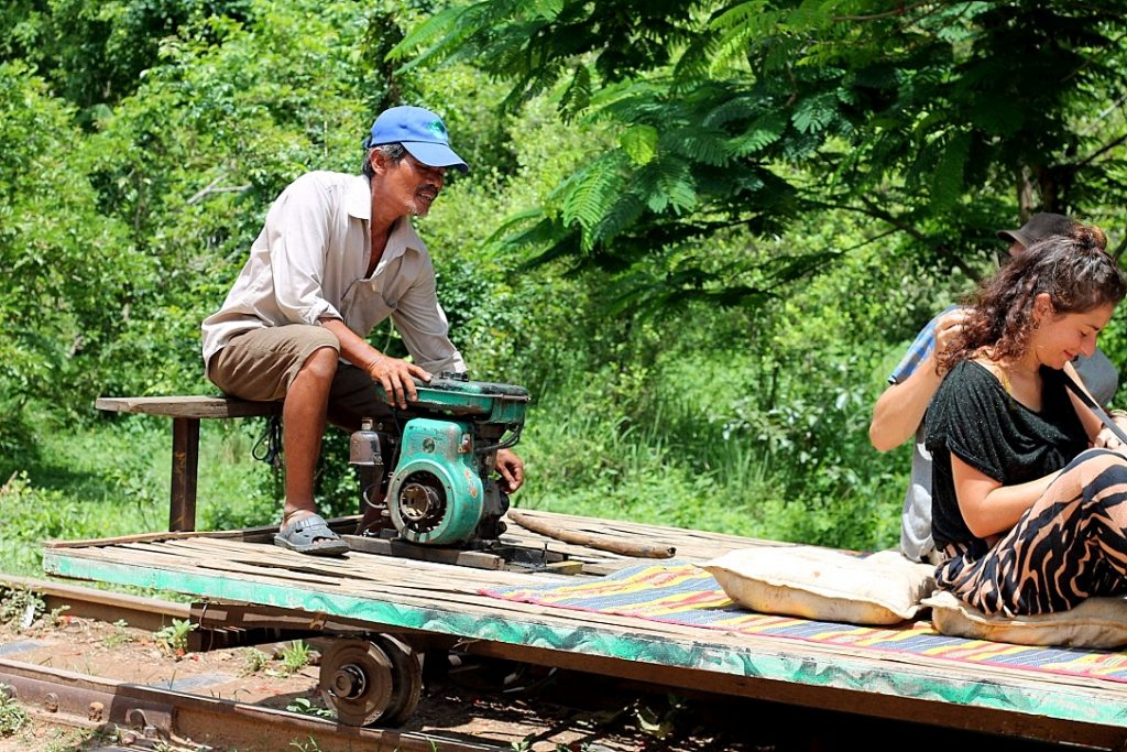 guide to cambodia, bamboo train, battembang