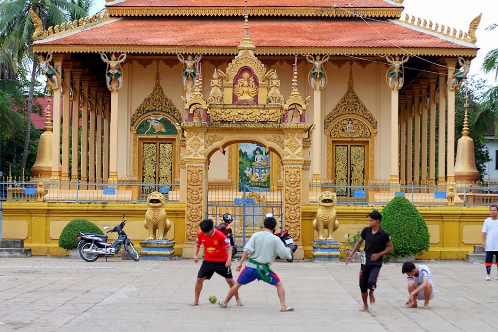 guide to cambodia, football