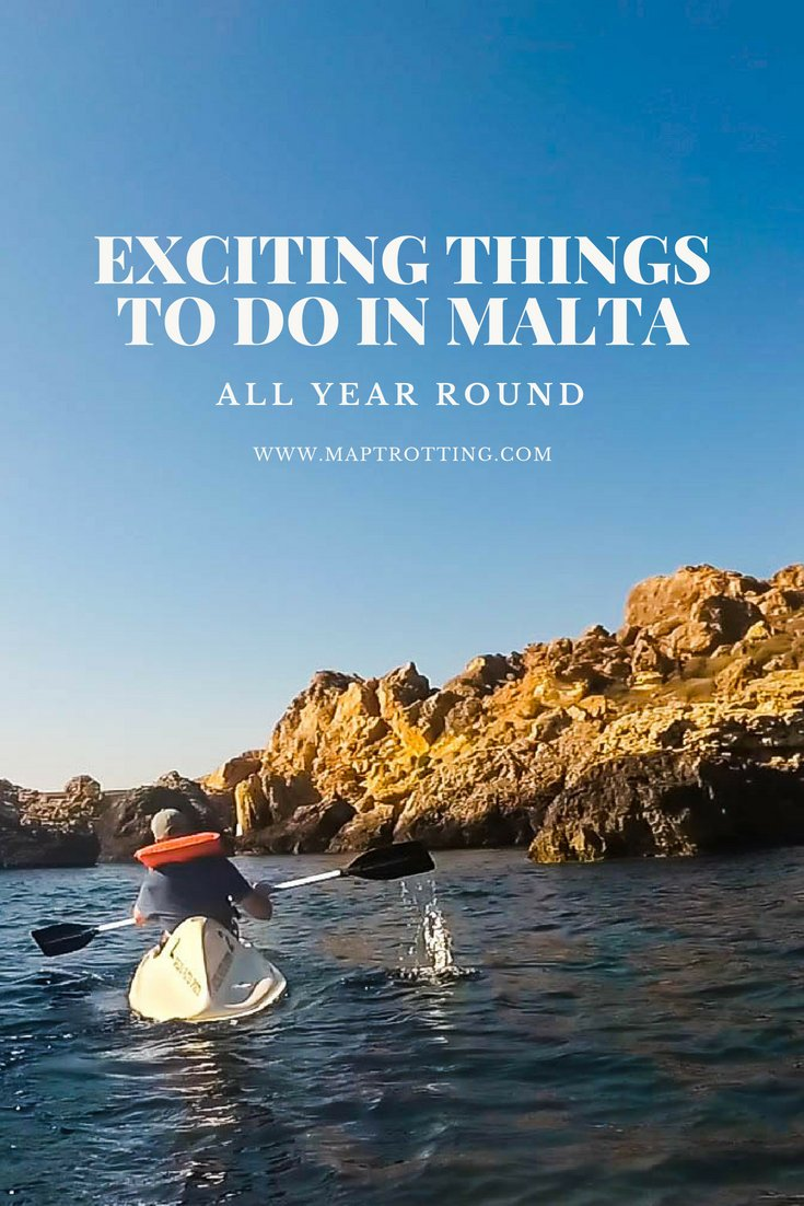 Things to do in Malta All Year Round