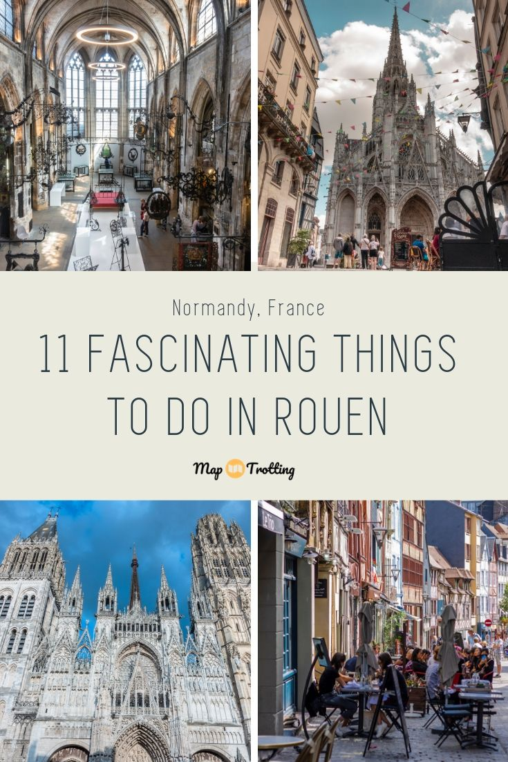 11 fascinating things to do in Rouen (France)
