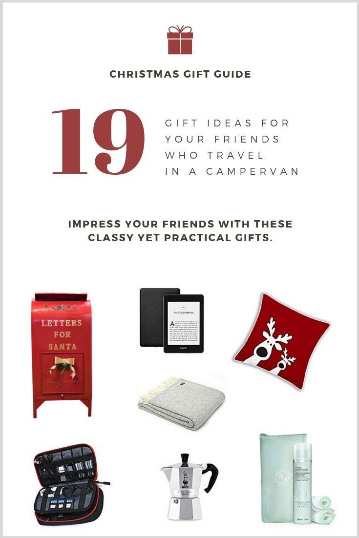 Christmas gift giving guide for vanlife friends