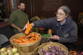 MCG farmer's market -photo from Globe Article Jan 5