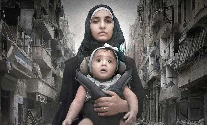 """For Sama"""": relato intímo e épico sobre o conflito na Síria é ..."""