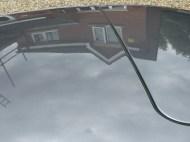 Reflection In Porsche 911 Roof