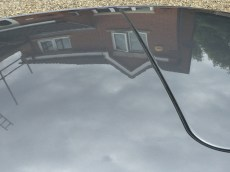 Reflection In Porsche 911 Roof