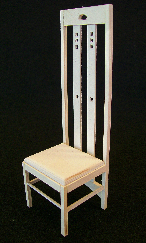 Cadeira Mackintosh (PVC)