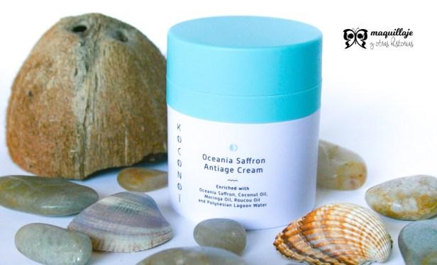KOCONOI- envase crema antiedad Oceania Saffron
