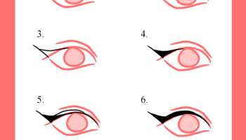 Como Dibujar La Linea Del Ojo Con Perfilador Paso A Paso