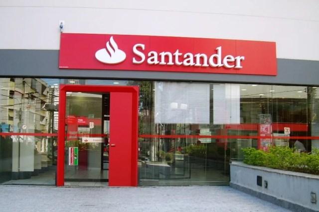 Máquina de Cartão do Santander