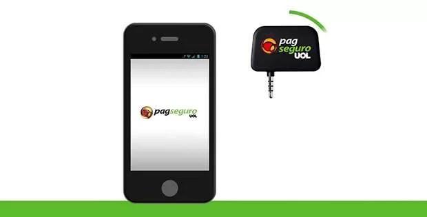 Leitor de cartão de crédito para celulares Pag Seguro