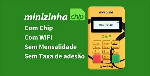 Minizinha Chip PagSeguro é boa? Vale a pena comprar?