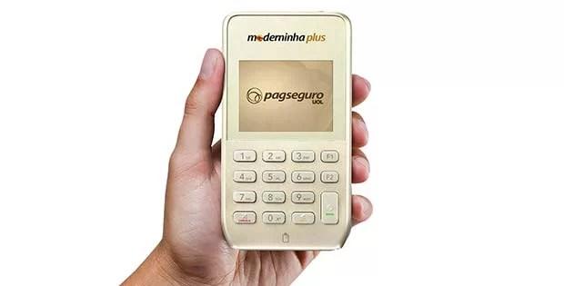 Moderninha PLUS PagSeguro - Vale a pena comprar? Confira o preço e taxas!