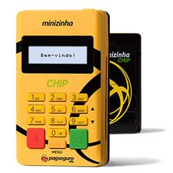 Minizinha Chip da PagSeguro
