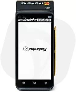 Maquininha de Cartão Moderninha Smart PagSeguro