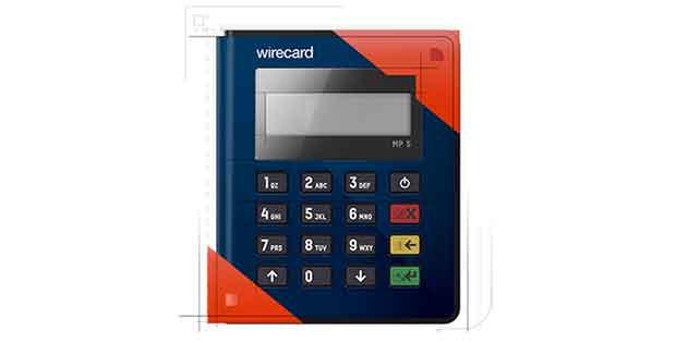 Máquina de Cartão Wirecard (moip)