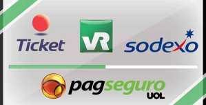Como aceitar Ticket, Sodexo, Alelo e VR Benefícios nas Máquinas da PagSeguro