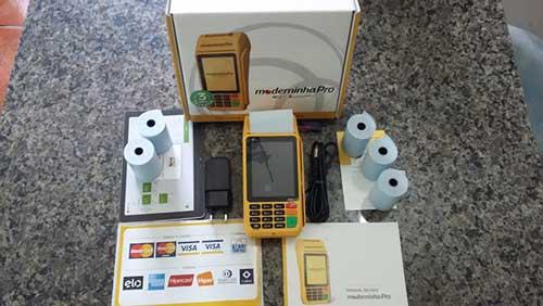 Kit completo da Moderninha Pro