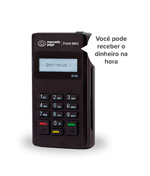 Maquininha Mercado Pago Point Mini