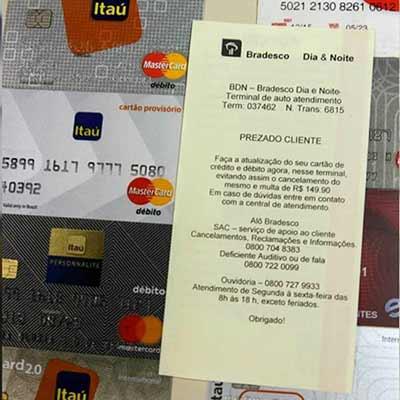 Idosos estão são enganados em novo golpe de roubo de cartões