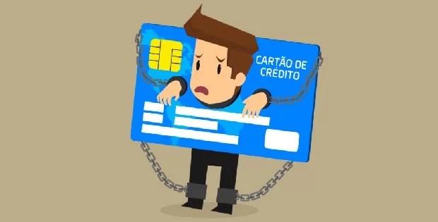 crédito rotativo cartão