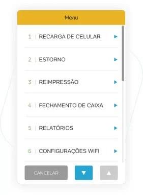 recarga de celular com a Moderninha Pro passo a passo 1