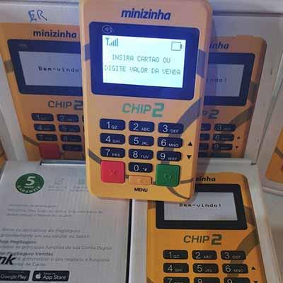 Melhores máquinas de cartão de 2020 Minizinha Chip 2