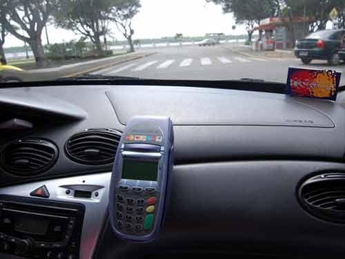 Máquina de Cartão para Motorista de Aplicativo e Taxistas