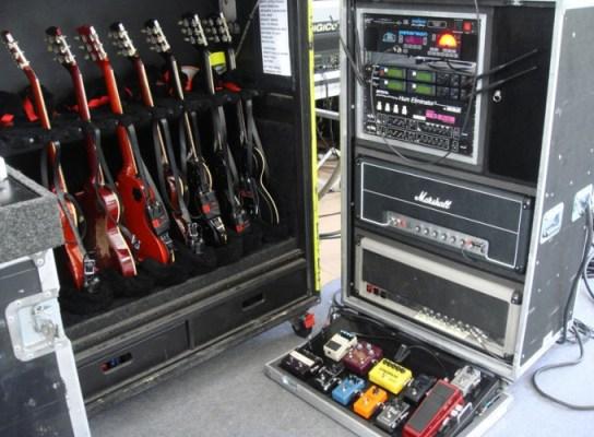 Slash live setup - Ja é um dos melhores guitarristas