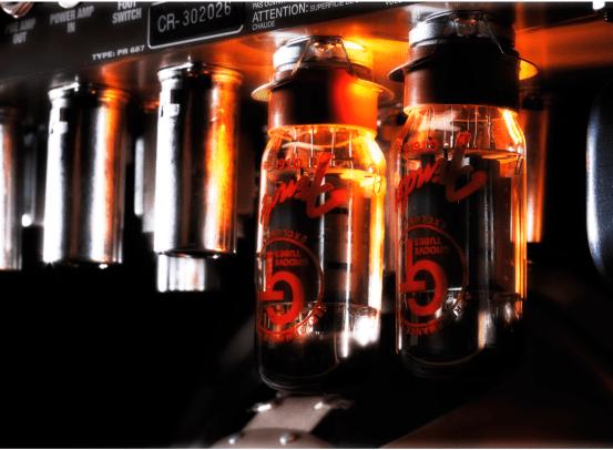 Amplificadores Valvulados e suas valvulas quentes